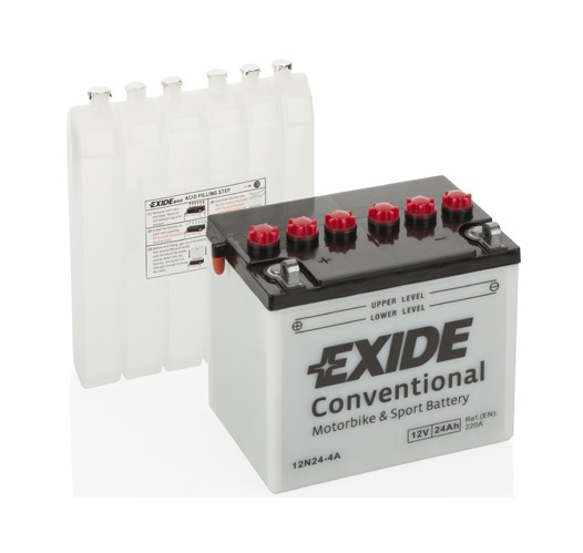 EXIDE BIKE Conventional 12N24-4A