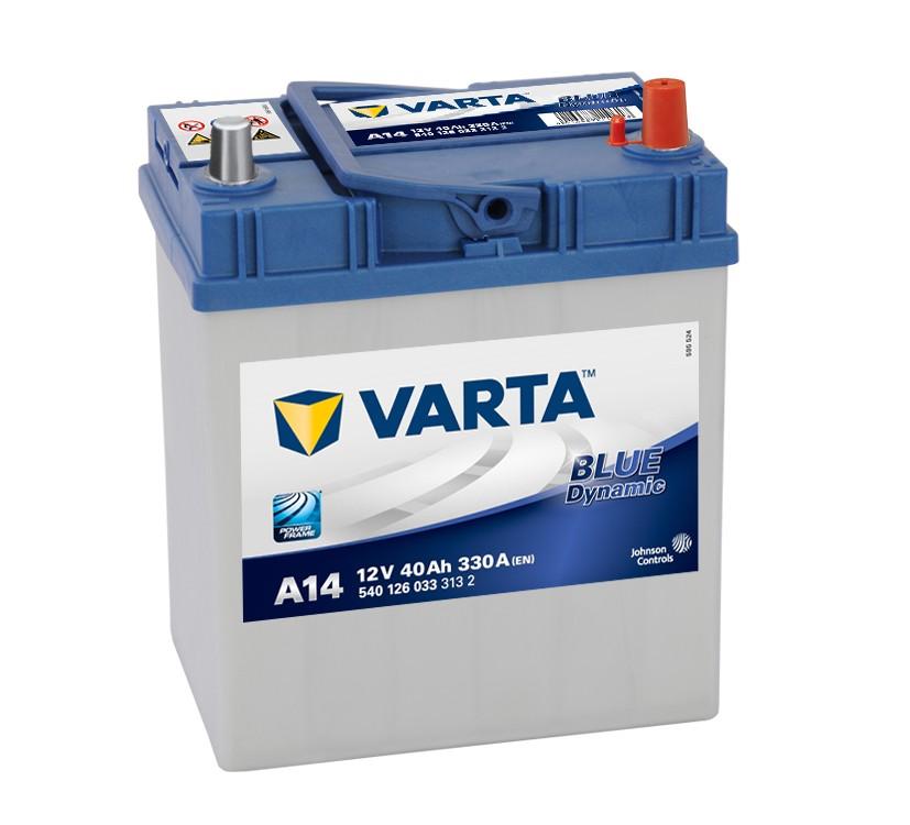 VARTA BLUE dynamic 40Ah (ASIA)