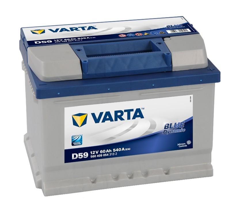 VARTA BLUE dynamic 60Ah