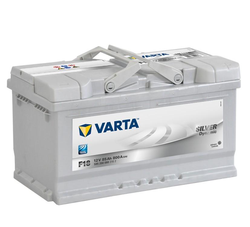 VARTA SILVER dynamic 85Ah
