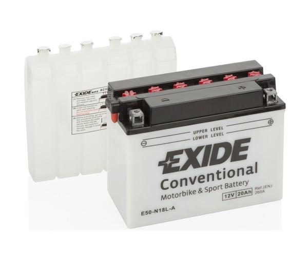 EXIDE BIKE Conventional Y50-N18L-A